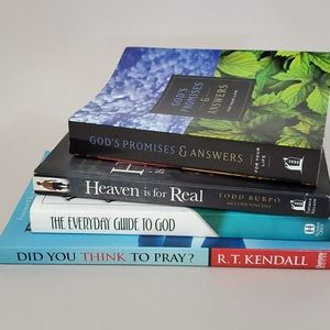 Religious devotional book lot